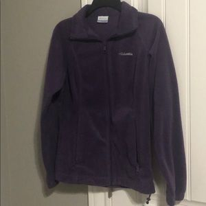 Columbia purple womens jacket small
